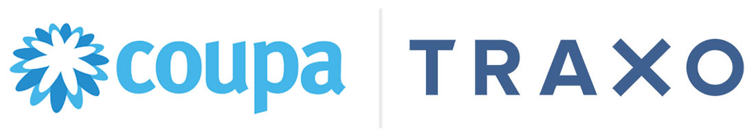 coupa traxo partner logos